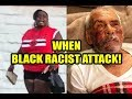 Black Woman Beats 92-Year-Old Mexican Man With Brick! Tells Him Get Out Of My Country!