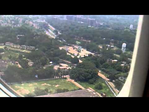 *Awesome Air India Flight IC 617:Landing  At Vishakapatnam Airport*