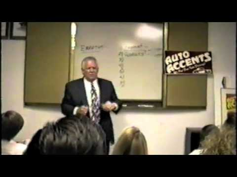 Roger Gochneaur Sales Training at Auto Accents – the movie 17 minutes of excellent
