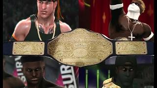 Undisputed Heavyweight Championship History (2008 - Royal Rumble 2017)