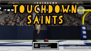 Saints vs. Giants gameplay
