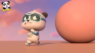 ¡Corre, Súper Panda Kiki!   Súper Panda Héroes   Dibujos Animados Infantiles   BabyBus