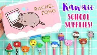 How to DIY Kawaii School Supplies: Pencils + Pencil Case!
