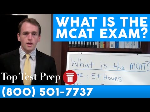 What is the MCAT exam? | TopTestPrep.com