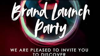 IRISA Cosmetics Launch Party Invite