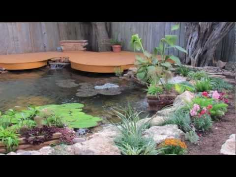 Small backyard koi pond 1000 1200 gal ez build diy how for Build a koi pond yourself