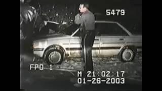5 Crazy Police Dash Cam Videos #2
