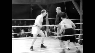 Charlie Chaplin's boxing scene with sound