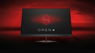 OMEN by HP 25 Display Monitor--Unboxing And Setup--Review