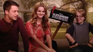 Ed Oxenbould, Kerris Dorsey and Dylan Minnette on their instant bond and funny nicknames