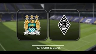 HIGHLIGHTS ► Manchester City 4-2 Borussia Moenchengladbach - 8 Dec 2015 | English Commentary