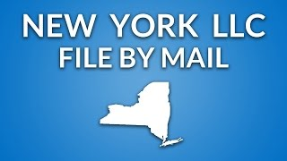 New York LLC - Formation Documents (by mail)