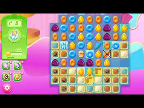 Candy Crush Jelly Saga Level 148 New No Boosters