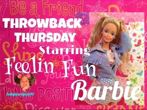 1988 Feelin Fun Barbie Doll✨