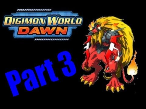 Let's Play Digimon World Dawn Part 3: Lost In Novice Mountains video