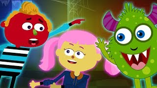 Haunted - Where Is The Monster? Halloween Songs and Nursery Rhymes
