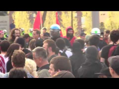 447 Arrests at Montreal May Day Protest 2013