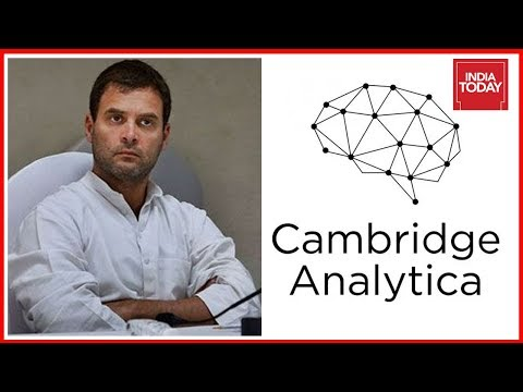 FB Data Scam Hits Indian Politics; BJP Accuses Congress Of Having Links With Cambridge Analytica
