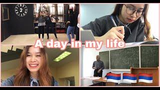 Một ngày của Du học sinh Nga l Môn Toán ở Nga có khó không l Nhảy KPOP ở Nga 💖 l Sú Vlog