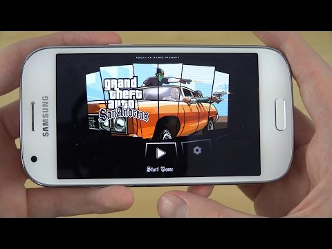 GTA San Andreas Samsung Galaxy Ace 4 4K Gameplay Review