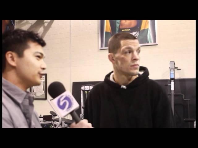 Nate Diaz UFC 141 Pre-Fight Interview