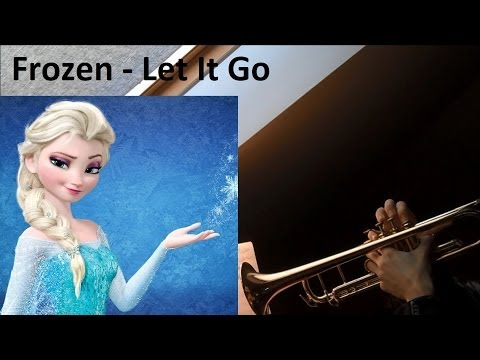 Frozen  -  Let It Go (trumpet cover)
