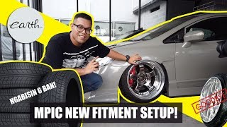 "New Wheels And Fitment Correction For Stance Honda Civic FD2 ""CamberGang"" #Carvlog #cambergang"