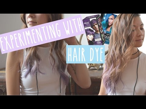 Dyeing My Hair Lavender w/ Splat Hair Dye | Review & Demo