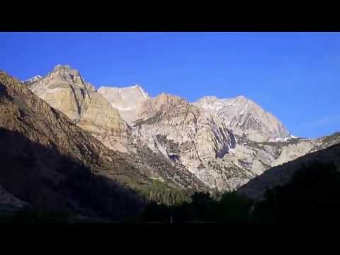 Camping Trip 2013, Part 4, Hwy 395, Pine Creek Road, Bishop CA