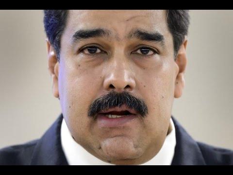 Venezuela legislative elections - President Nicolas Maduro votes