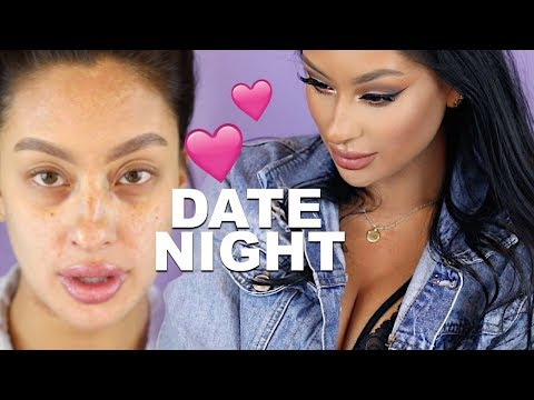 DRUGSTORE DATE NIGHT MAKEUP   VALENTINES DAY LOOK   First Impression of New 2019 Covergirl Products