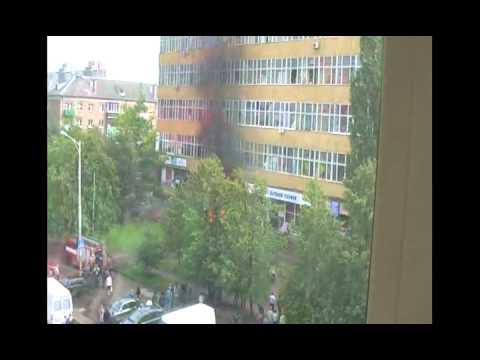 Взрыв шавермы в Калининграде