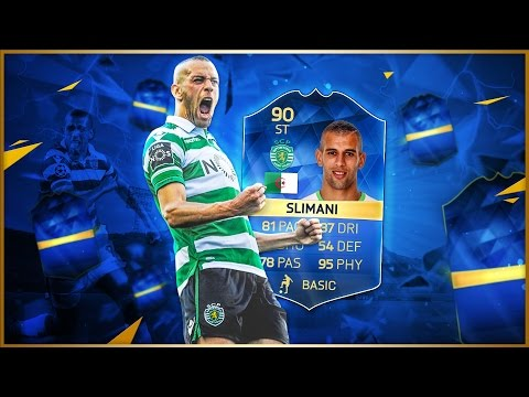 FIFA 16 - Islam Slimani - TOTS Review