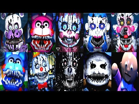 Baby's Nightmare Circus ALL JUMPSCARES