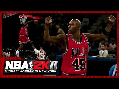 NBA 2K11 Recreations. MJ always thrived when playing in Madison Square Garden. Featured here is Jordan&#039;s First Game at MSG in 1984, The Posterizing Dunk on E...