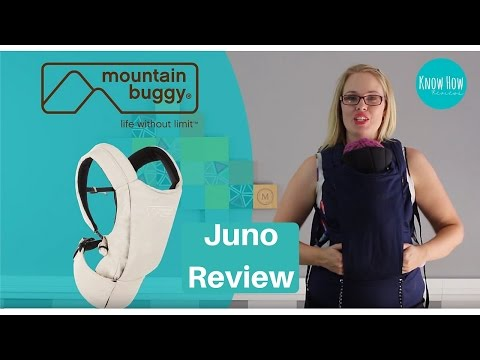 Mountain Buggy Juno Baby Carrier Review by Know How Reviews