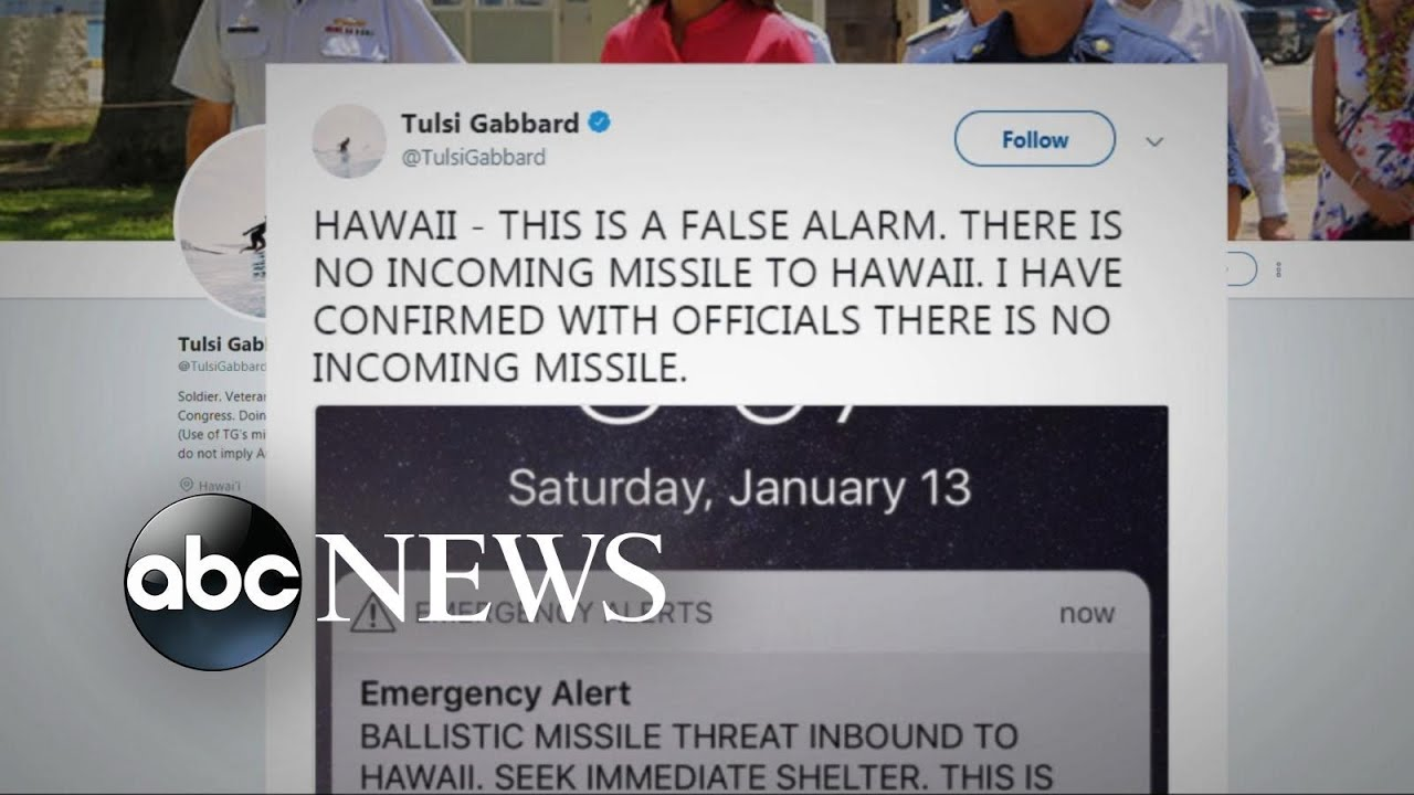 Hawaiians panic after false missile warning alert