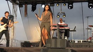 Anggun Performing At Barbezieux