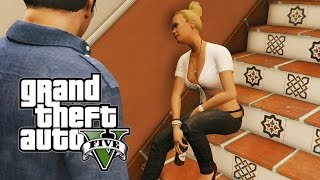 GTA 5 Nextgen - Tracey De Santa Drunk! (PS4, PC & Xbox One)