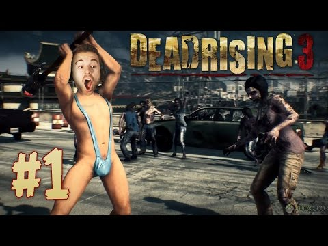 Dead Rising 3 #1 - Толпы Зомби
