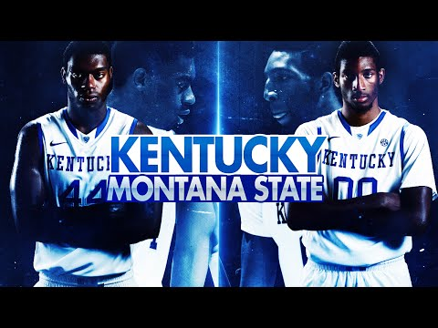 Kentucky Wildcats Tv: Men's Basketball Vs Montana State video
