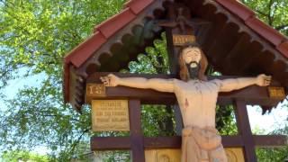 Răstignirea lui Șoltoianu la intrare într-o instituție laică, de stat