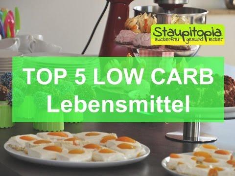 Top 5 Low Carb Lebensmittel, die in keiner Low Carb Küche fehlen sollten! Low Carb Ernährung