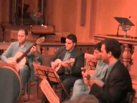 VA PENSIERO dal NABUCCO di Giuseppe VERDI - quartetto di mandolini