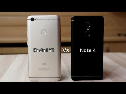Redmi Y1 Vs Redmi Note 4 Comparison And SpeedTest I Hindi