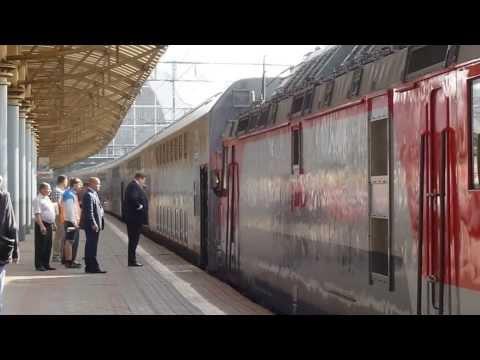 Первые двухэтажные вагоны РЖД / Russian double-decker rail cars