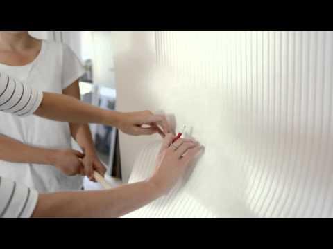 Boyanabilir Duvar Kağıtları Nasıl Uygulanır Yapıştırılır?
