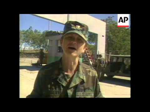 HAITI: US ARMY NEW YEAR CELEBRATIONS