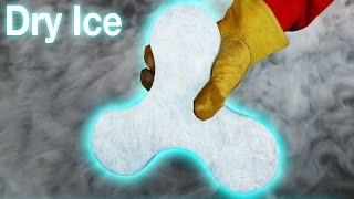 WORLDS COLDEST FIDGET SPINNER (DRY ICE!!)