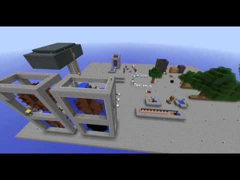 Infinity skyblock timelapse: road to ME system